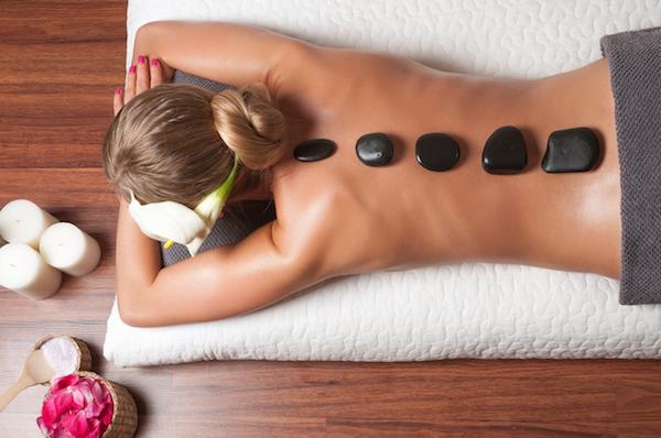 massaggio hot stone pietre caserta napoli