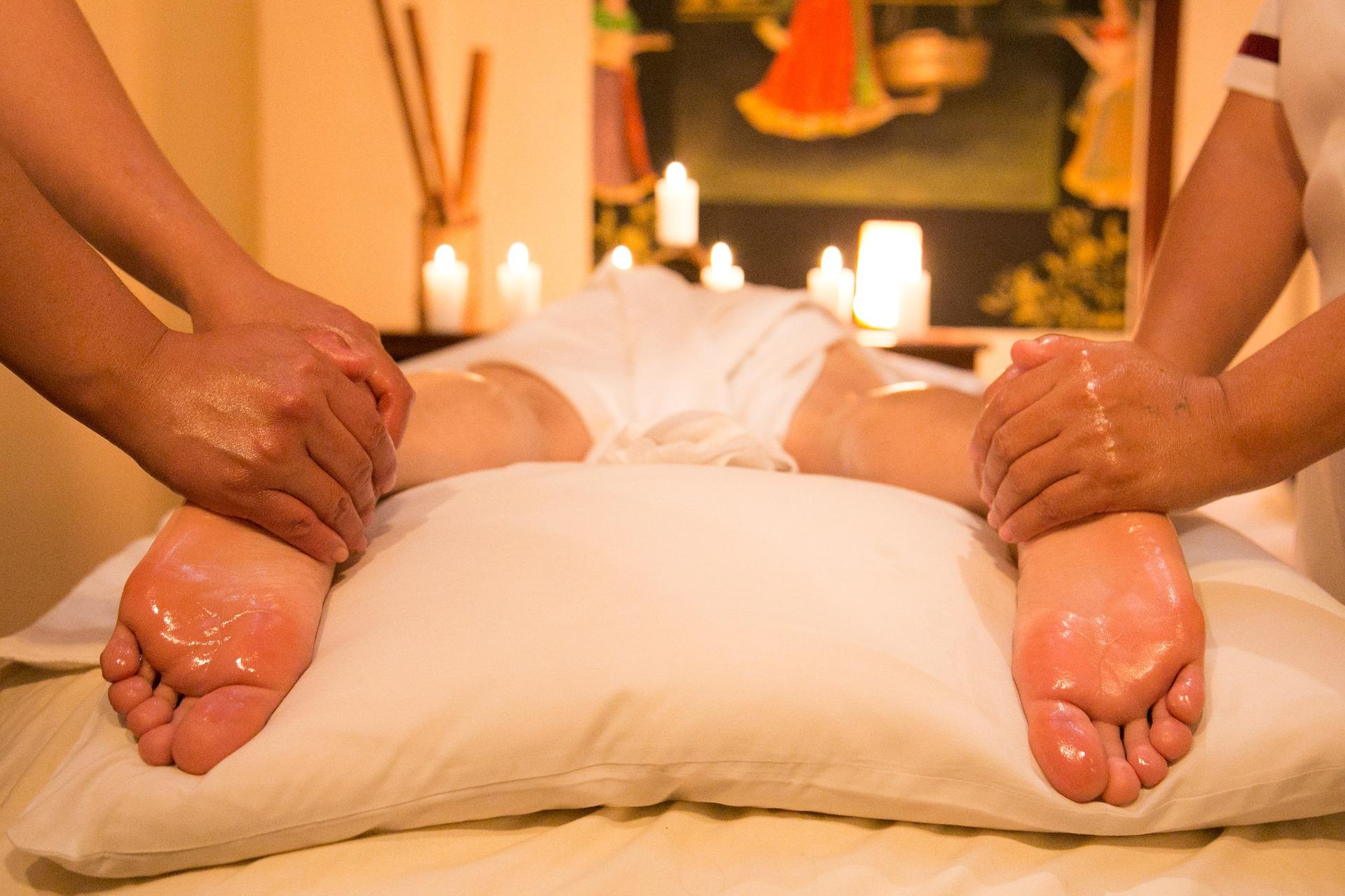 massaggio quattro mani