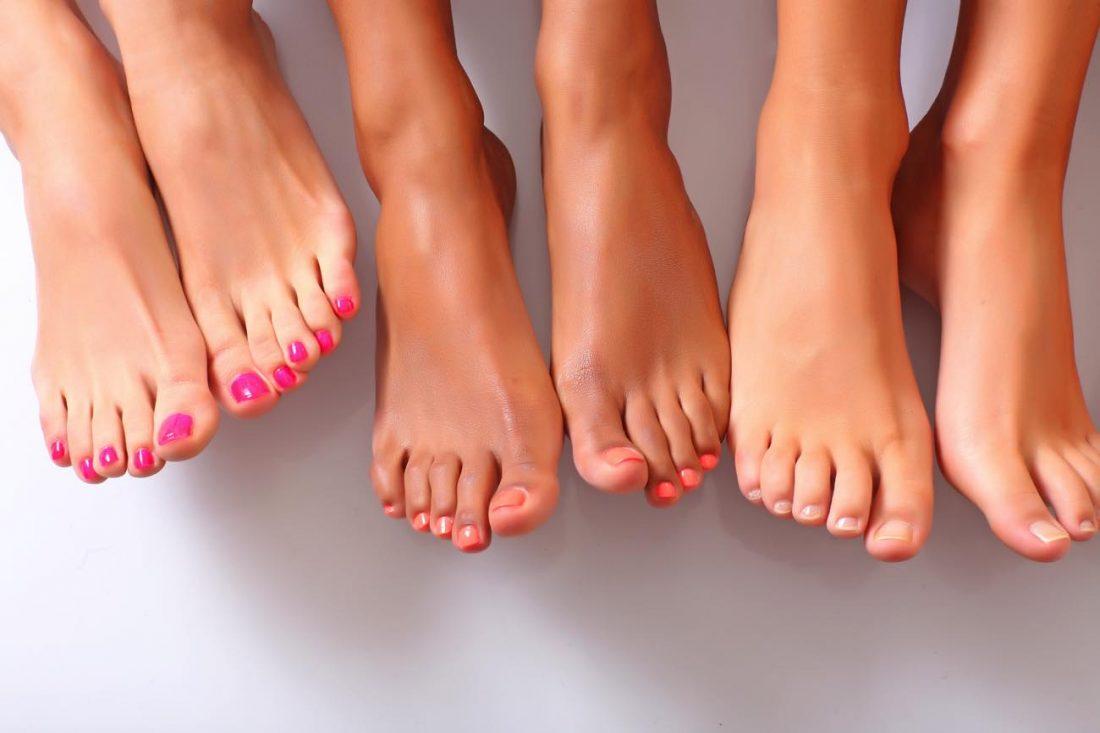 ricostruzione unghie piedi
